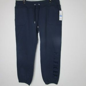 NWT Tommy Hilfiger Sport Embroidered Logo pants. A